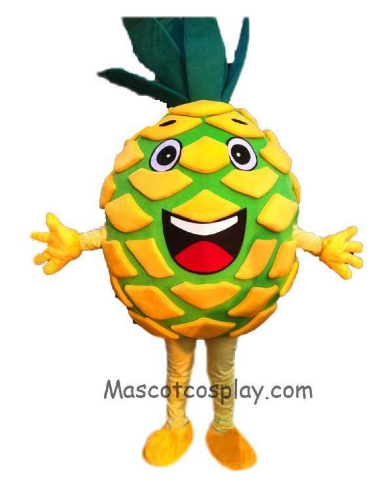 High Quality Pineapple Pete Mascot Fancy Dress Christmas Party Costume