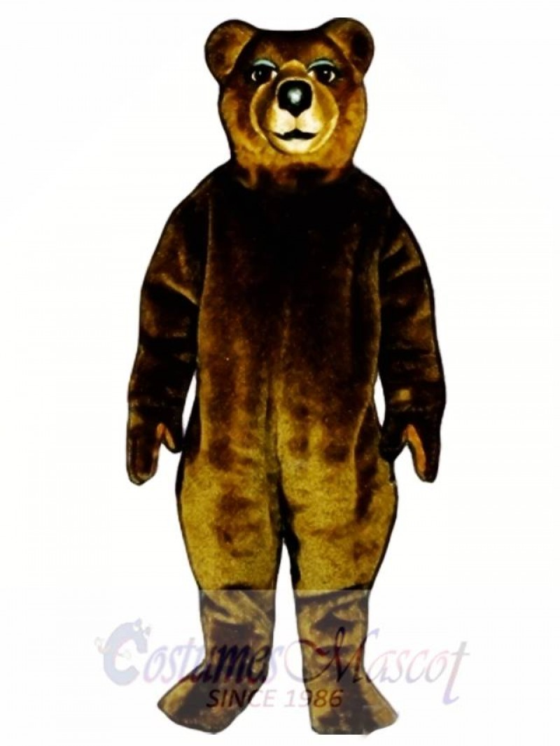 Mrs. Brown Bear Mascot Costume
