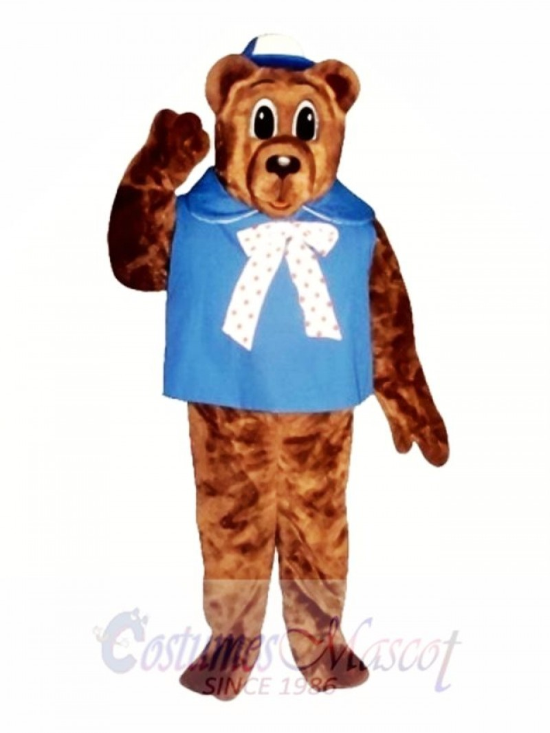 Baby Bear with Shirt & Hat Christmas Mascot Costume
