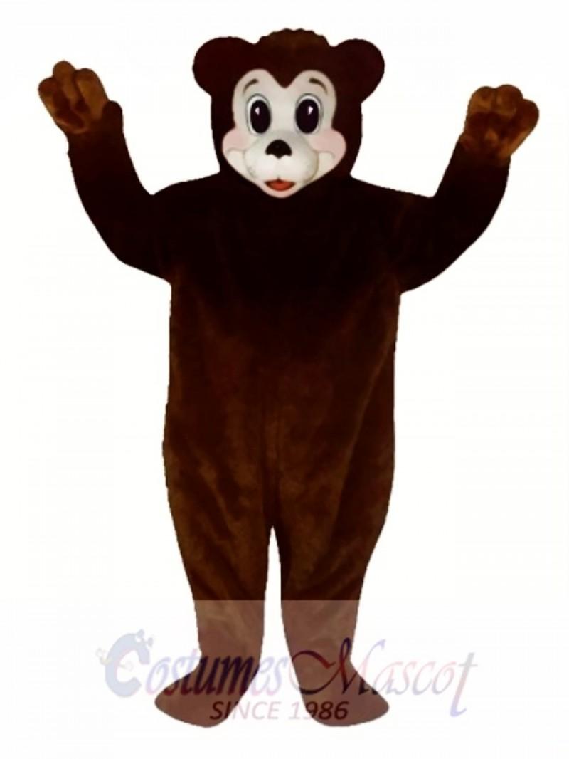 Cute Bobbie Bear Mascot Costume