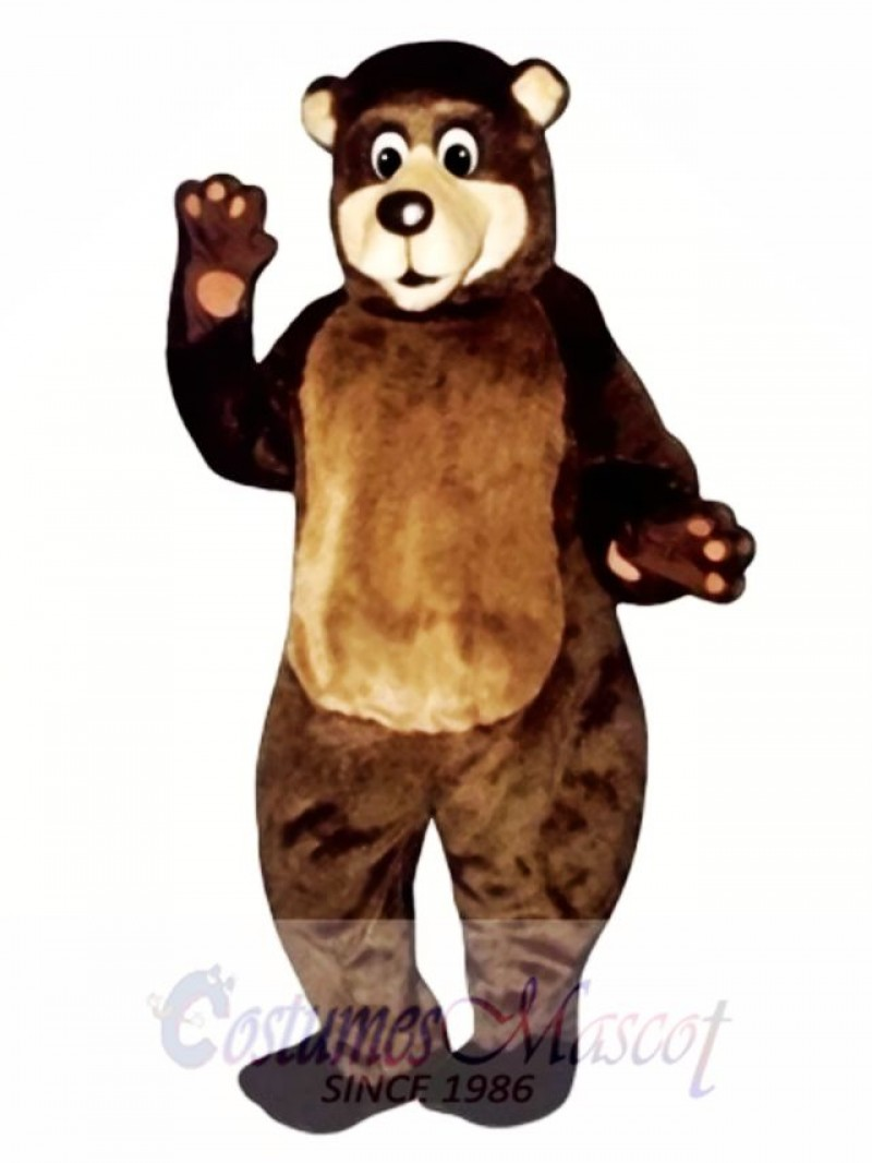 Grandpa Bear Mascot Costume