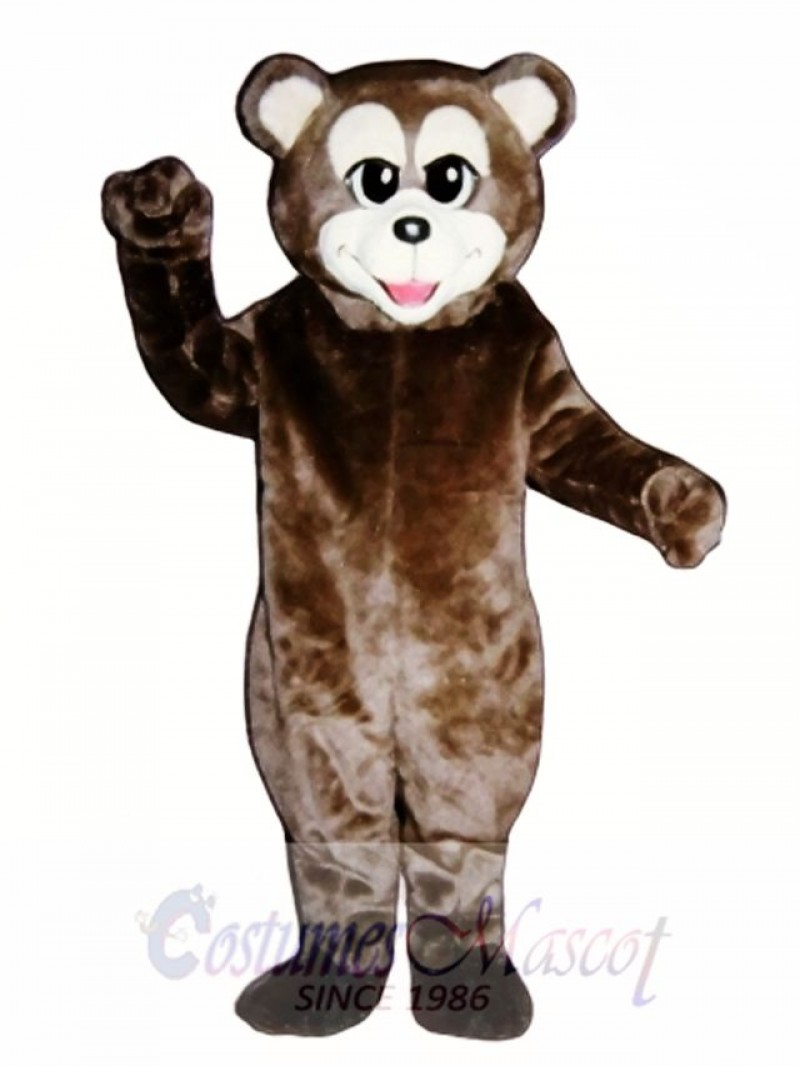 Happy Bear Mascot Costume