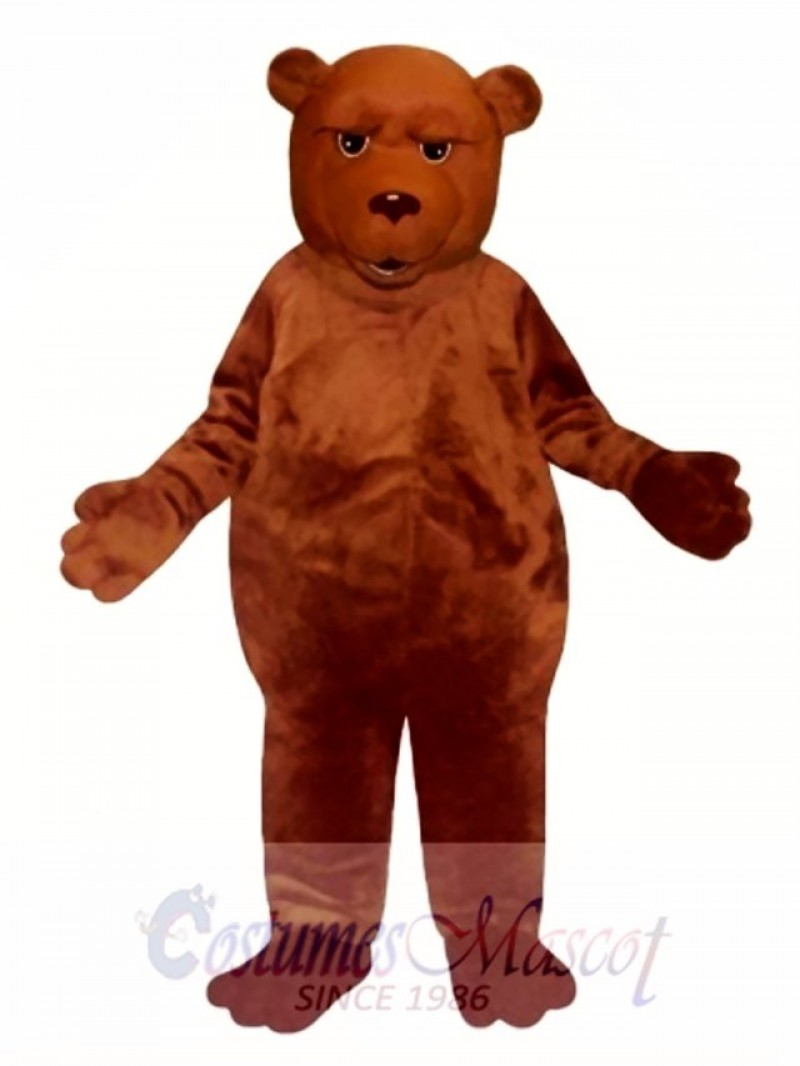 New Sleepy Bear Mascot Costume