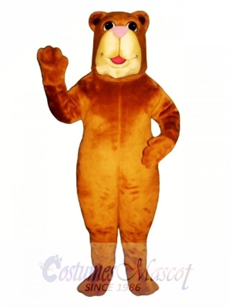 Cute Bully Bear Mascot Costume