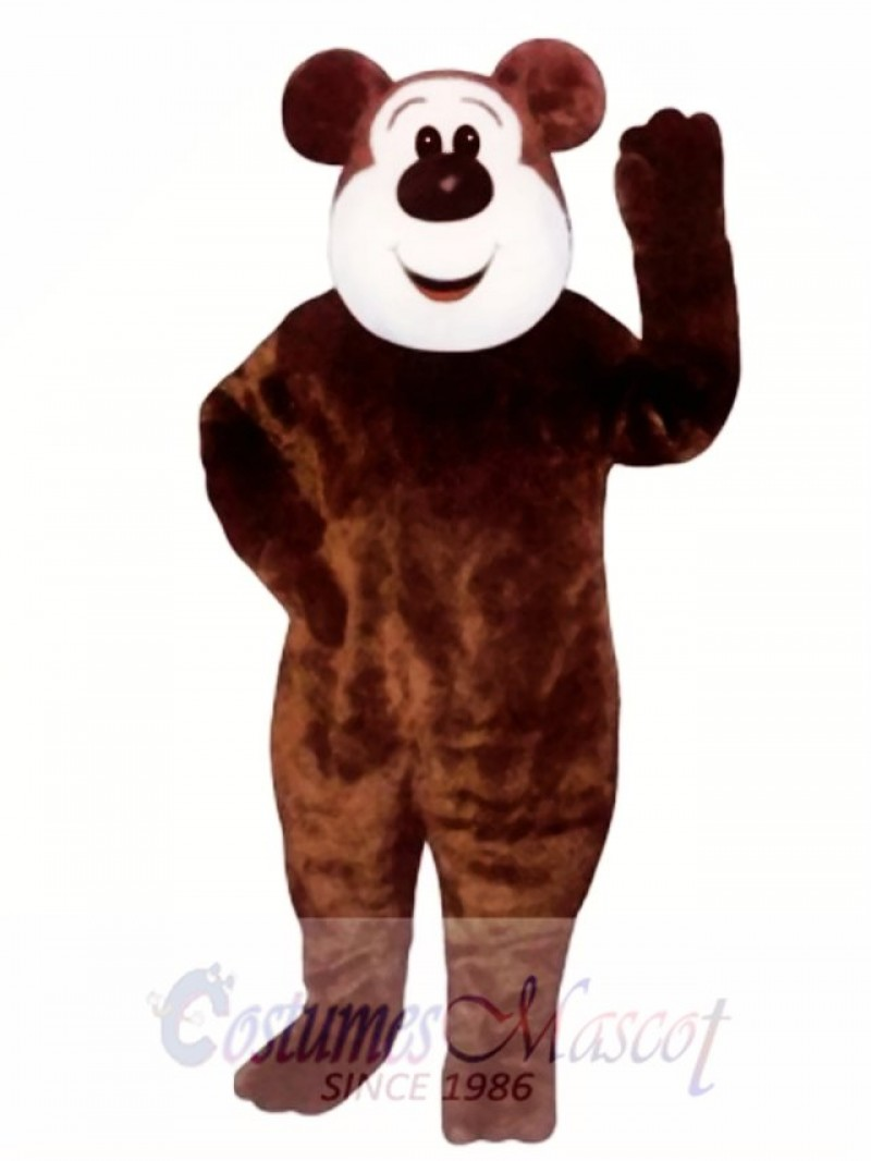 New Big Boy Bear Mascot Costume