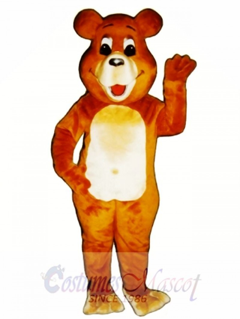 New Belly Bear Mascot Costume