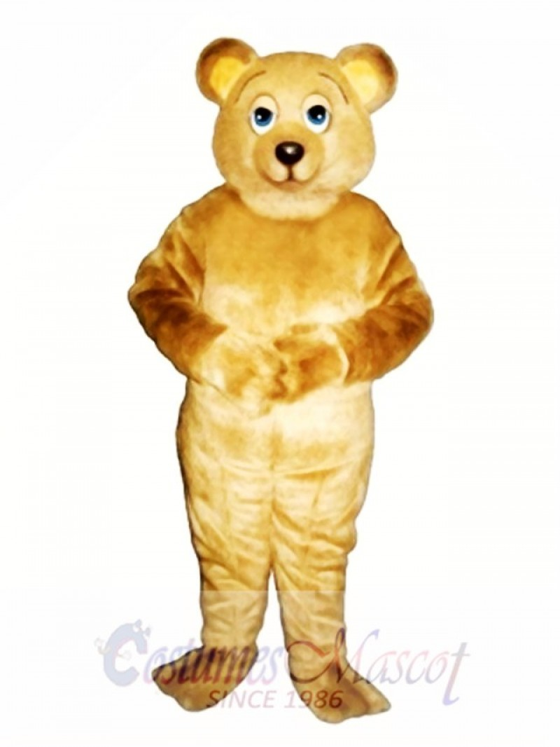 Lazy Bear Mascot Costume