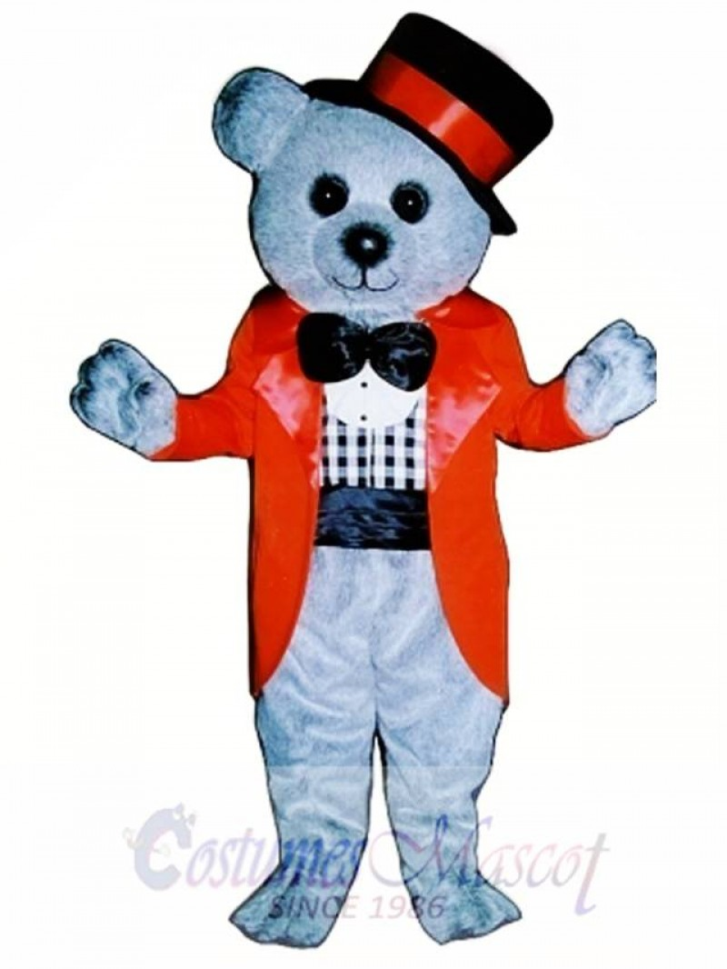 Linden Bear Mascot Costume