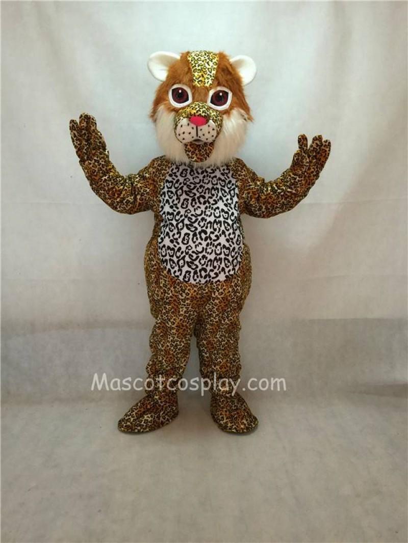 High Quality Ocelot Cat Mascot Costume