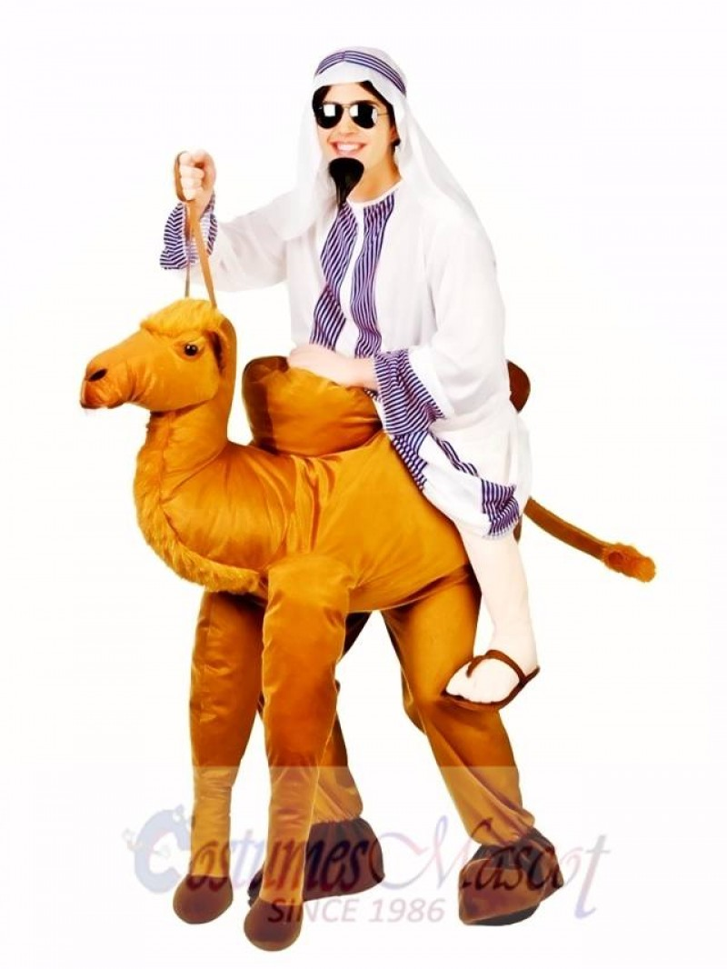 Camel Carry Me Mascot Costume Ride A Camel Fancy Dress