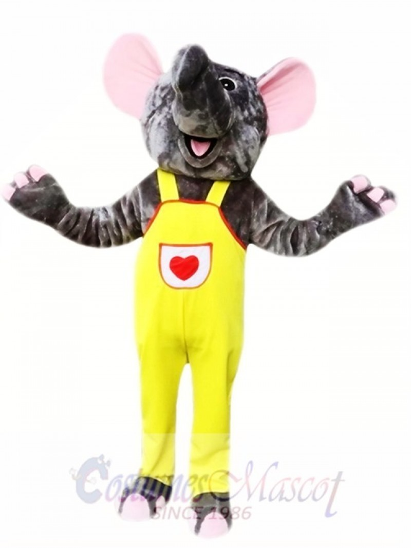 Gray Elephant Mascot Costumes