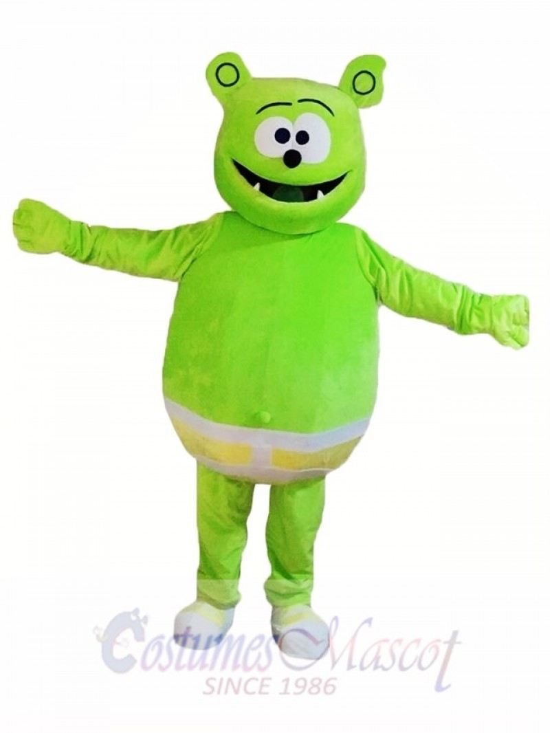 Gummy Green Bear Mascot Costumes