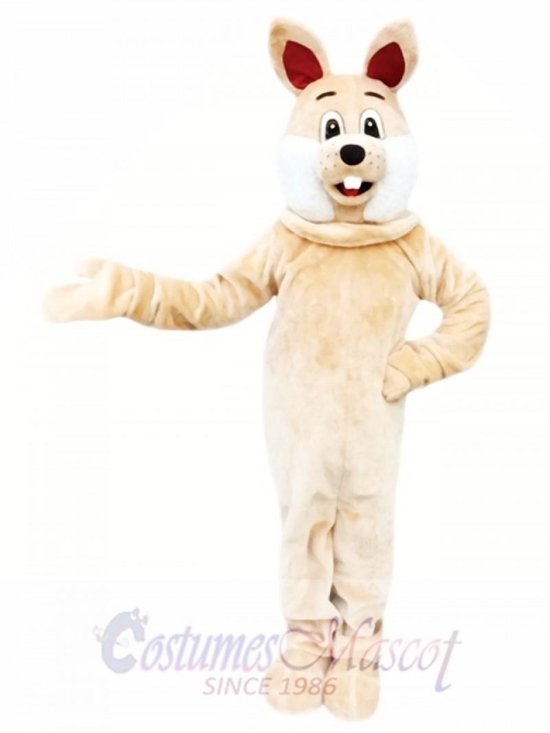 Brown Rabbit Easter Bunny Mascot Costume