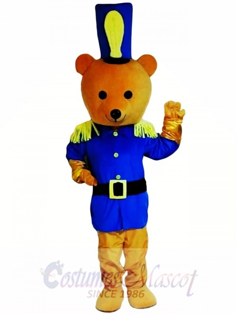 Brown Bear Mascot Costume High Quality Cartoon
