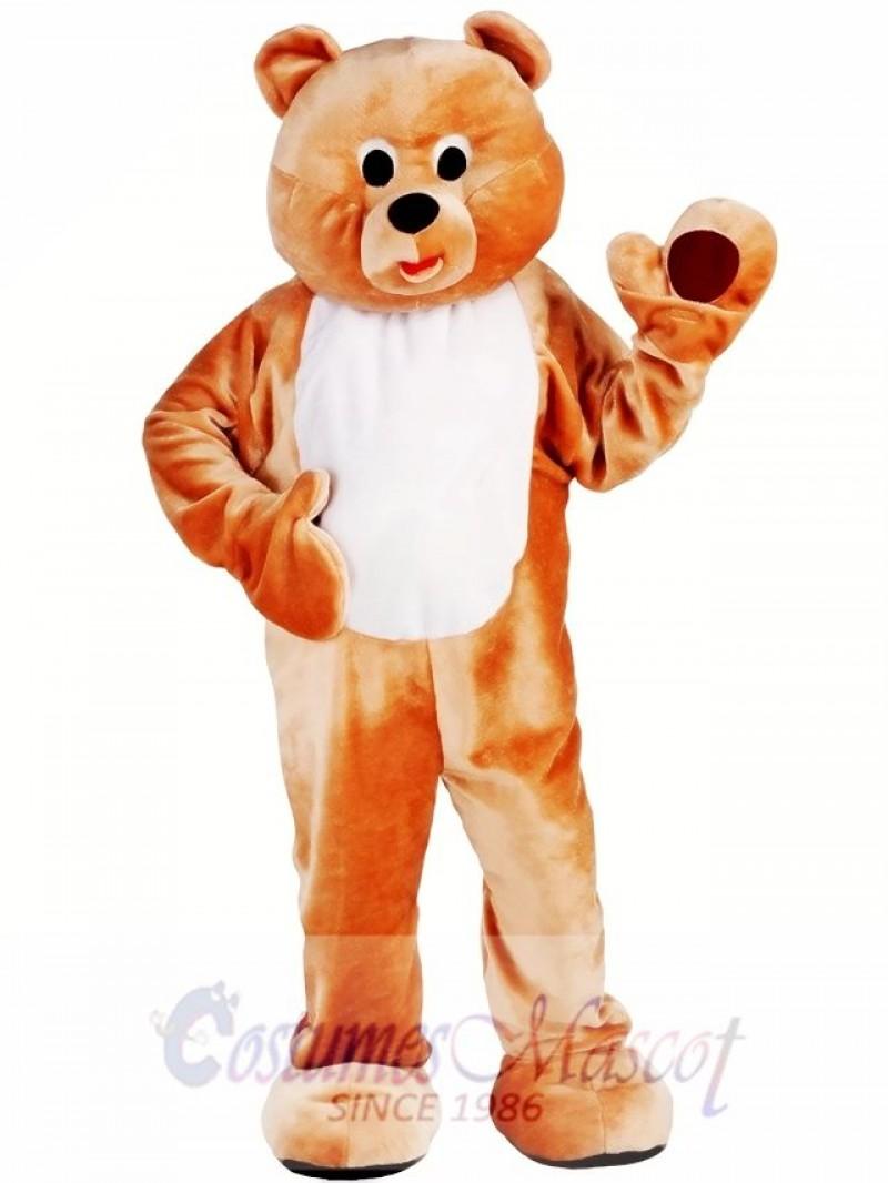 Mens Honey Bear Mascot Costume
