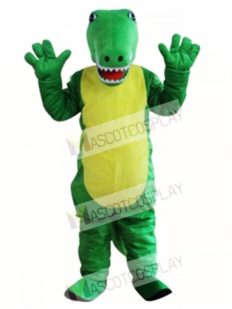 Crocodile Mascot Adult Costume