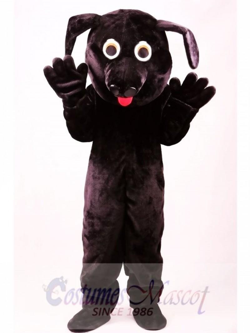 Black Labrador Dog Mascot Costume