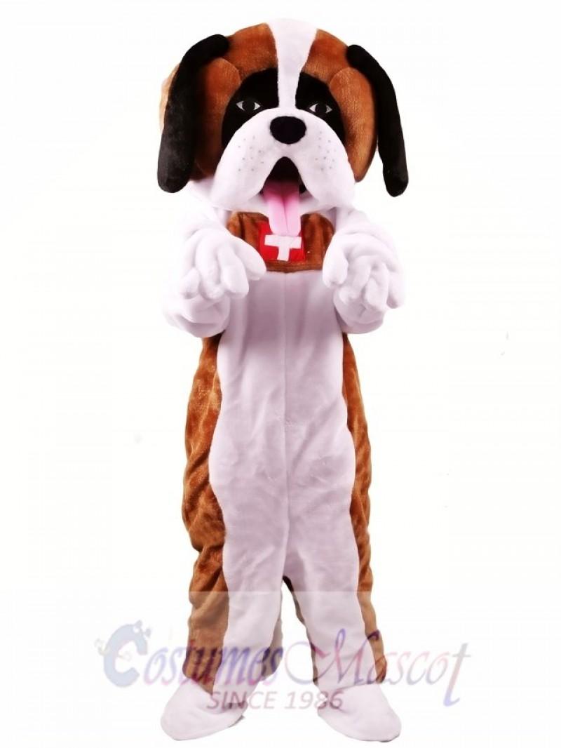 St. Bernard Dog Mascot Costume