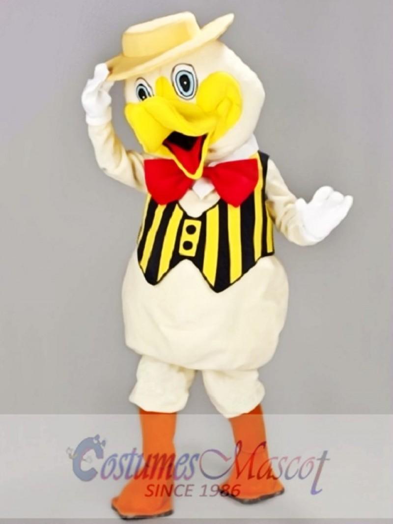 Dapper Duck Mascot Costume