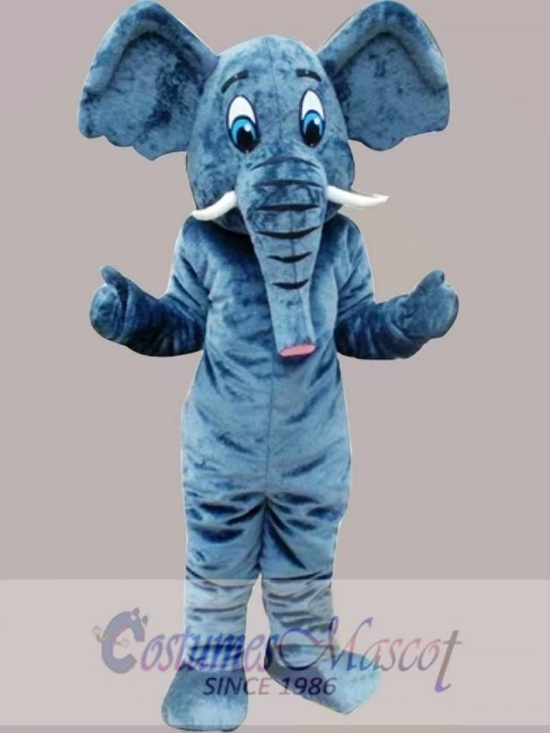 Elephant Mascot Costume Cartoon