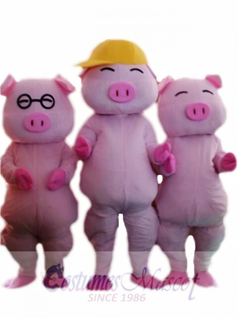Mcdull Pig Mascot Costume Custom Fancy Costume