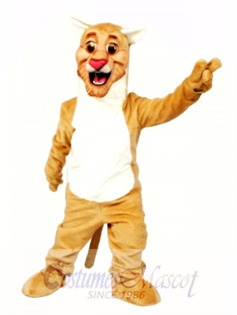Happy Lion Mascot Costume