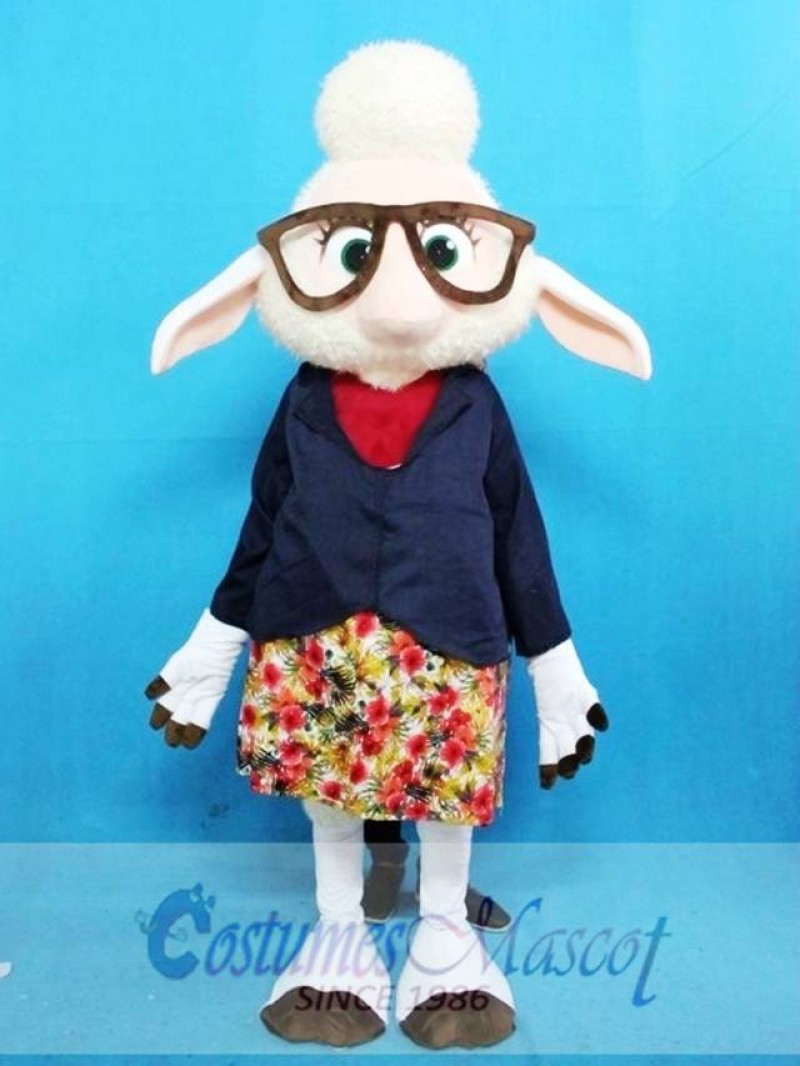 Zootopia Sheep Mascot Costume