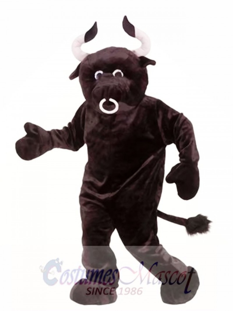 Adult Plush Bull Mascot Costume