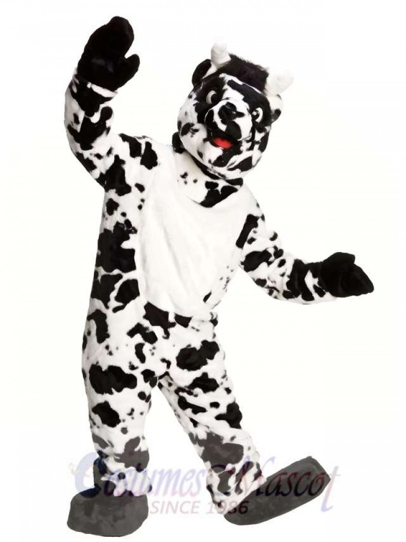 Adult Super Cow Mascot Costume