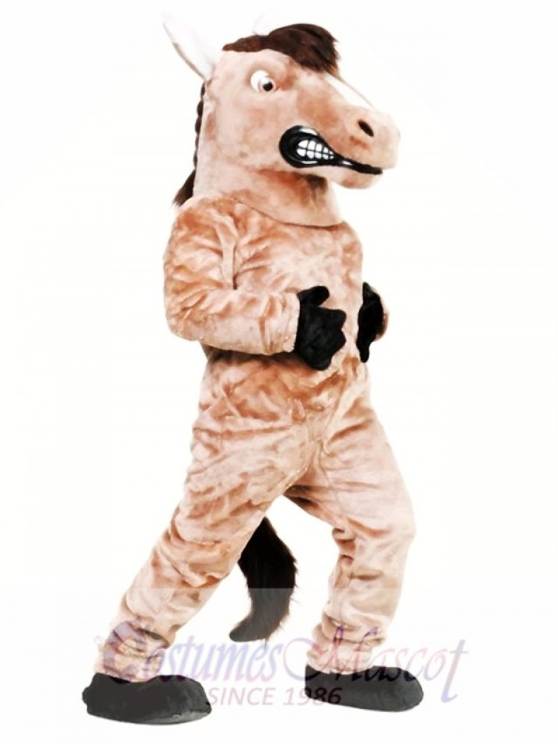 High Quality Mustang Horse Mascot Costume
