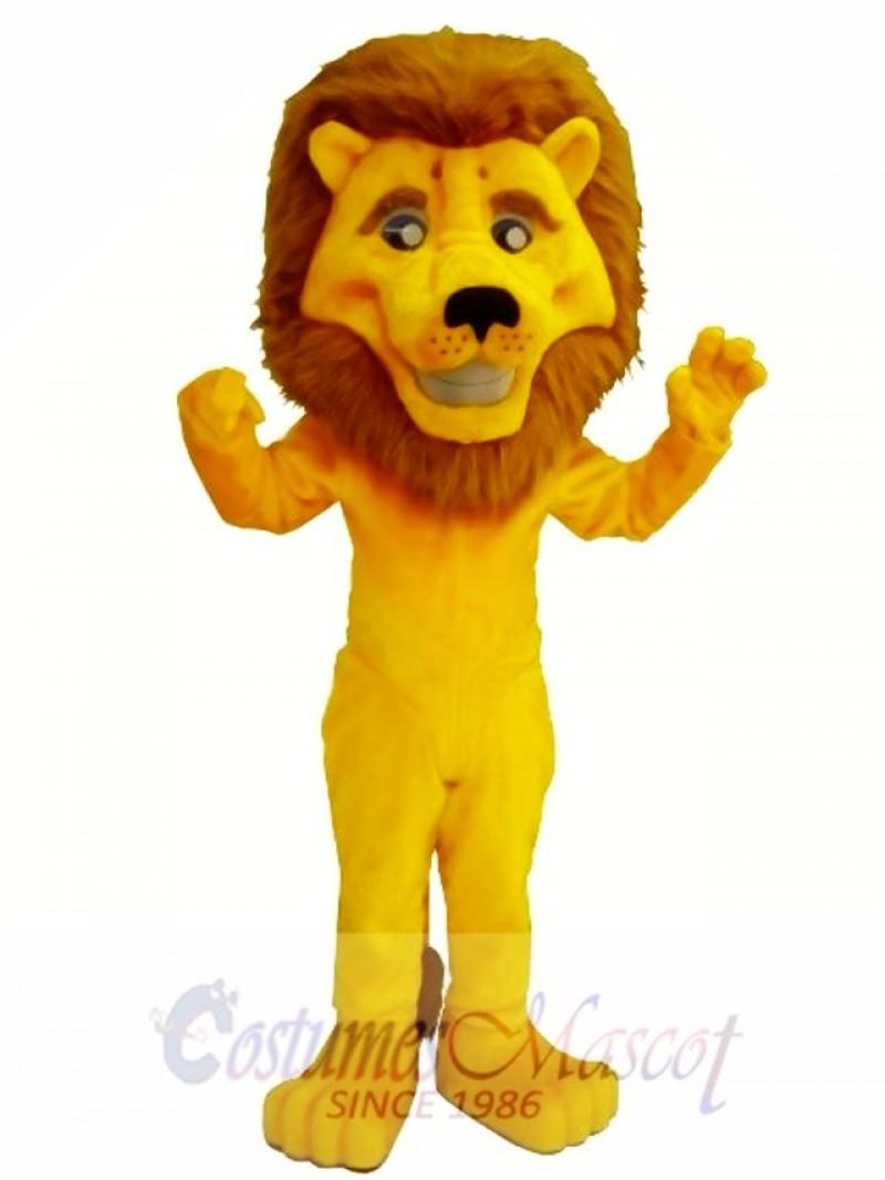 Eli The Lion Mascot Costume