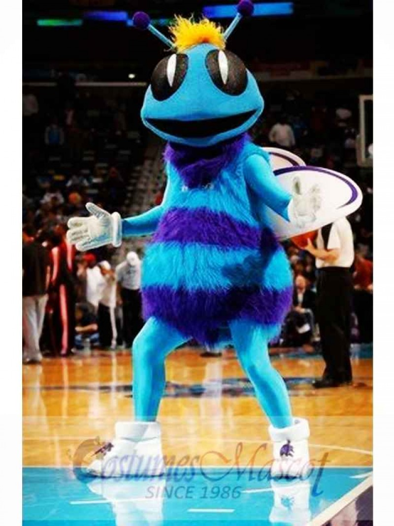Hugo Mascot Costume of The New Orleans Hornets Charlotte
