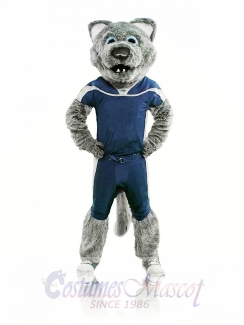 Sport Power Wolf Mascot Costume