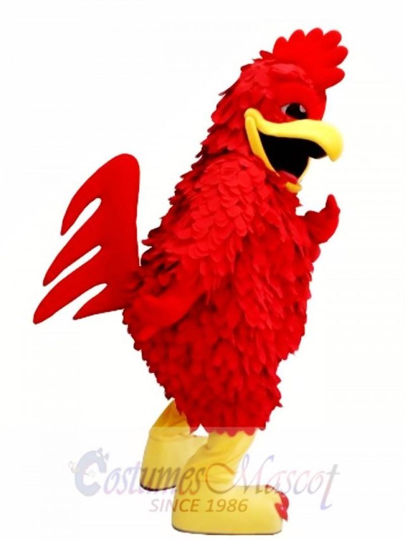Red Chicken Mascot Costume