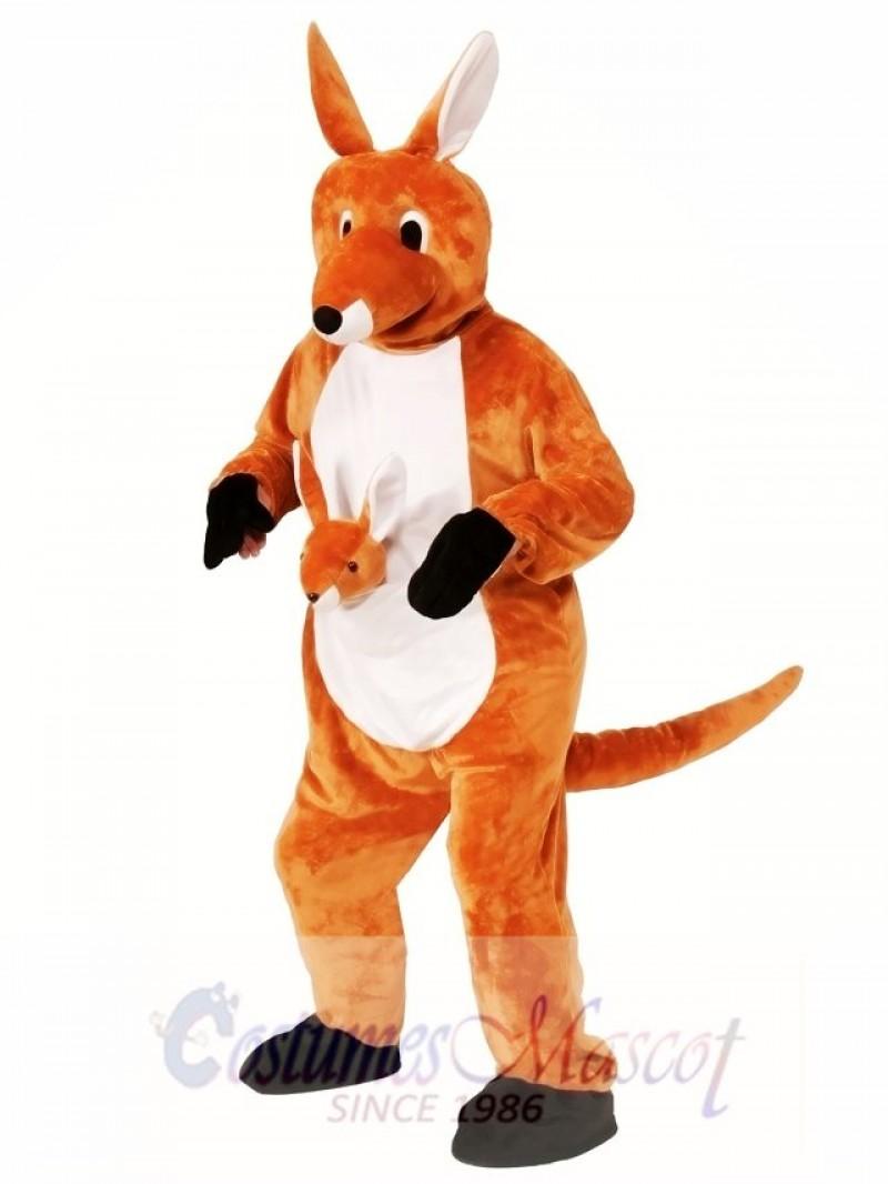 Jumping Jenny Kangaroo Mascot Costume