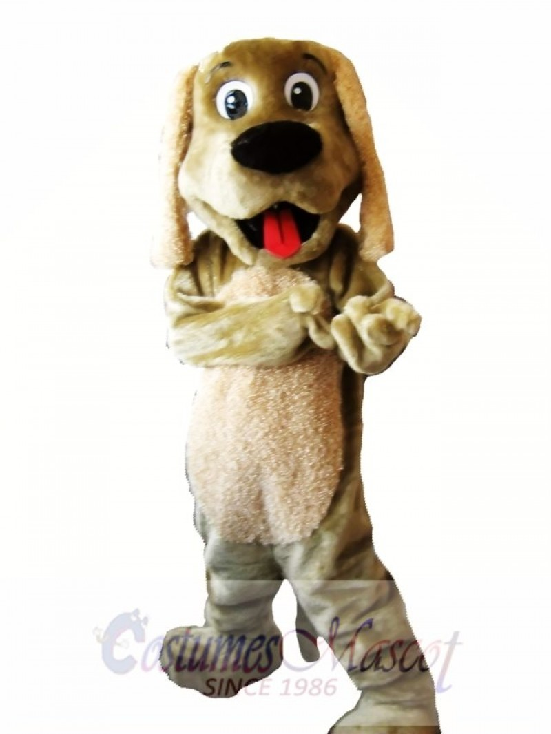 Brown Dog Mascot Costume Adult Costume