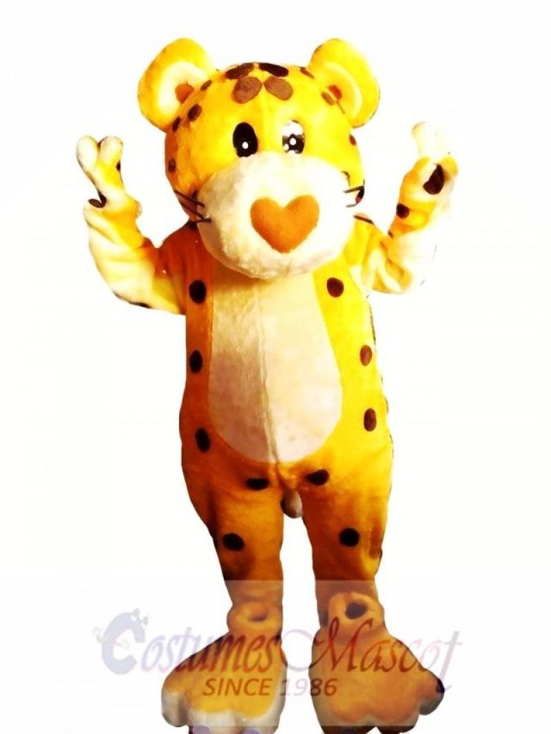 Cheetah Mascot Costume Adult Costume