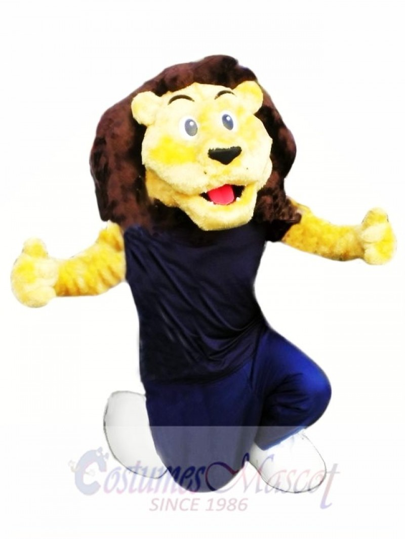 High Quality Lion Mascot Costume