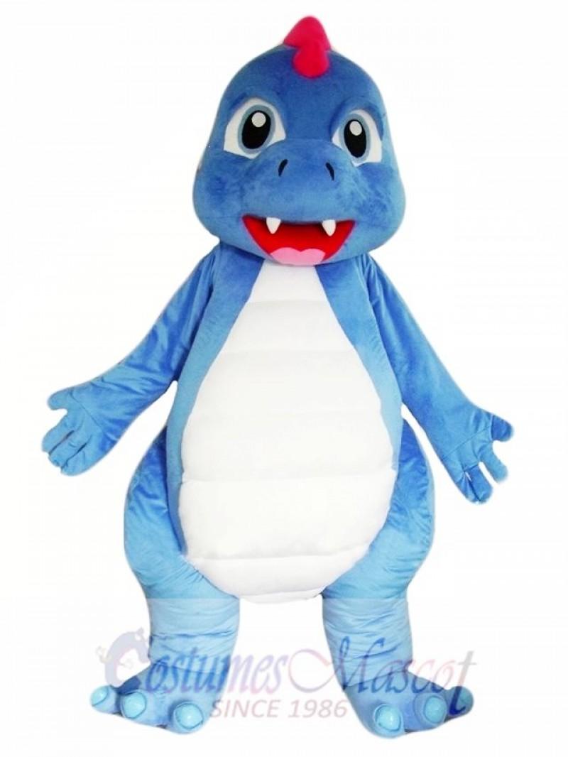 Blue Dinosaur Mascot Costumes