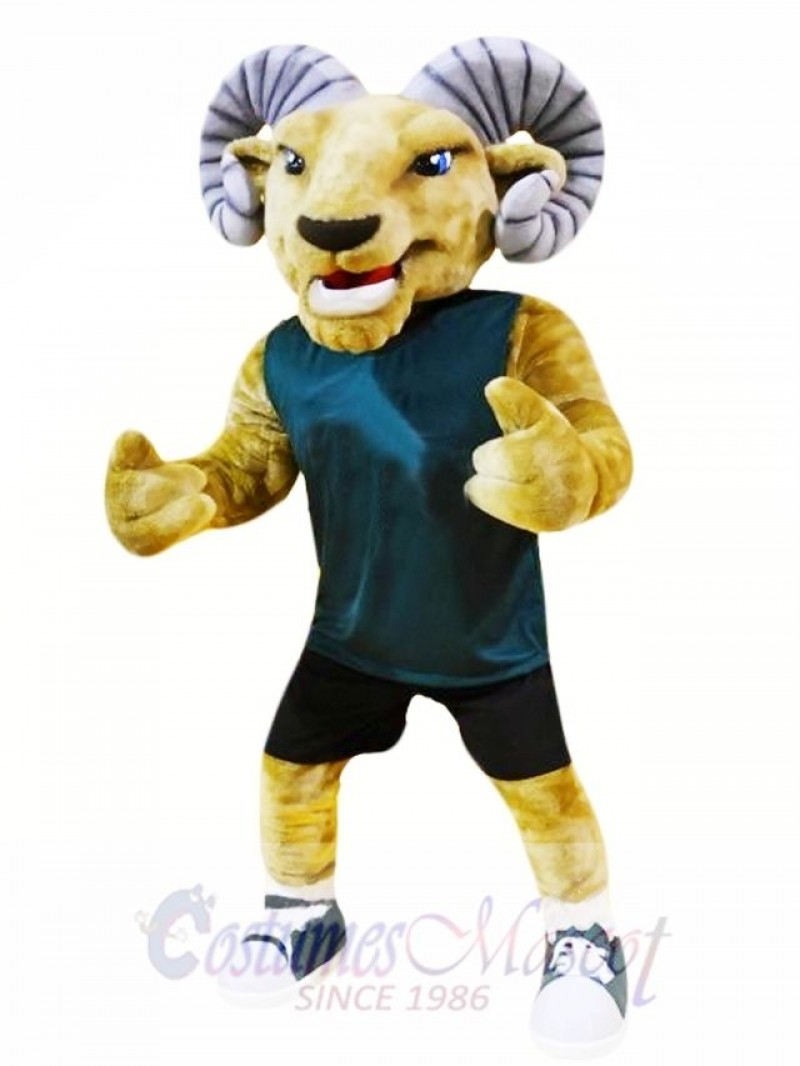Sport Animal Ram Mascot Costume