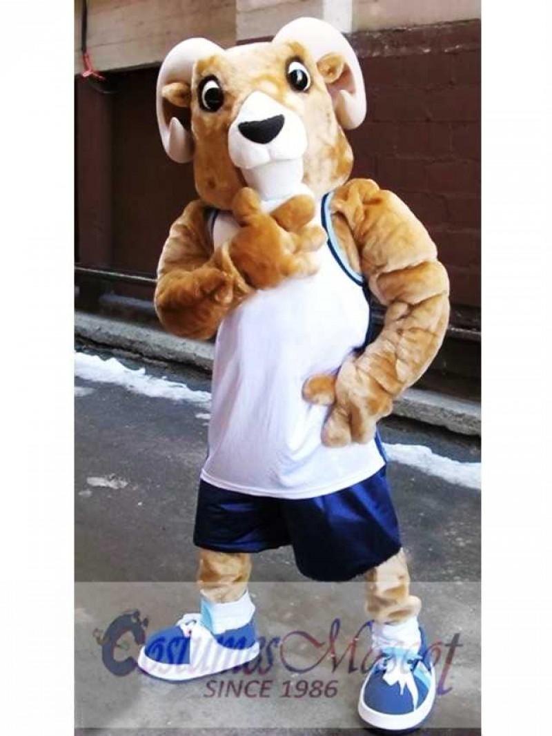 High Quality Sport Ram Mascot Costume