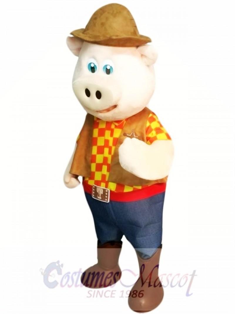 High Quality Pig Mascot Costume