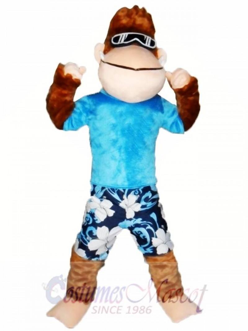 Strong Monkey Mascot Costume