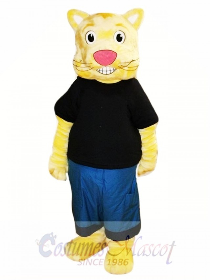 Cookie the Culture Cat Mascot Costume