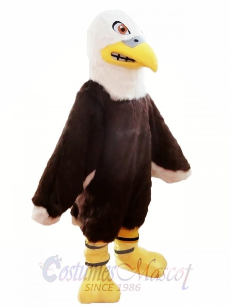 Furry Eagle Mascot Costume