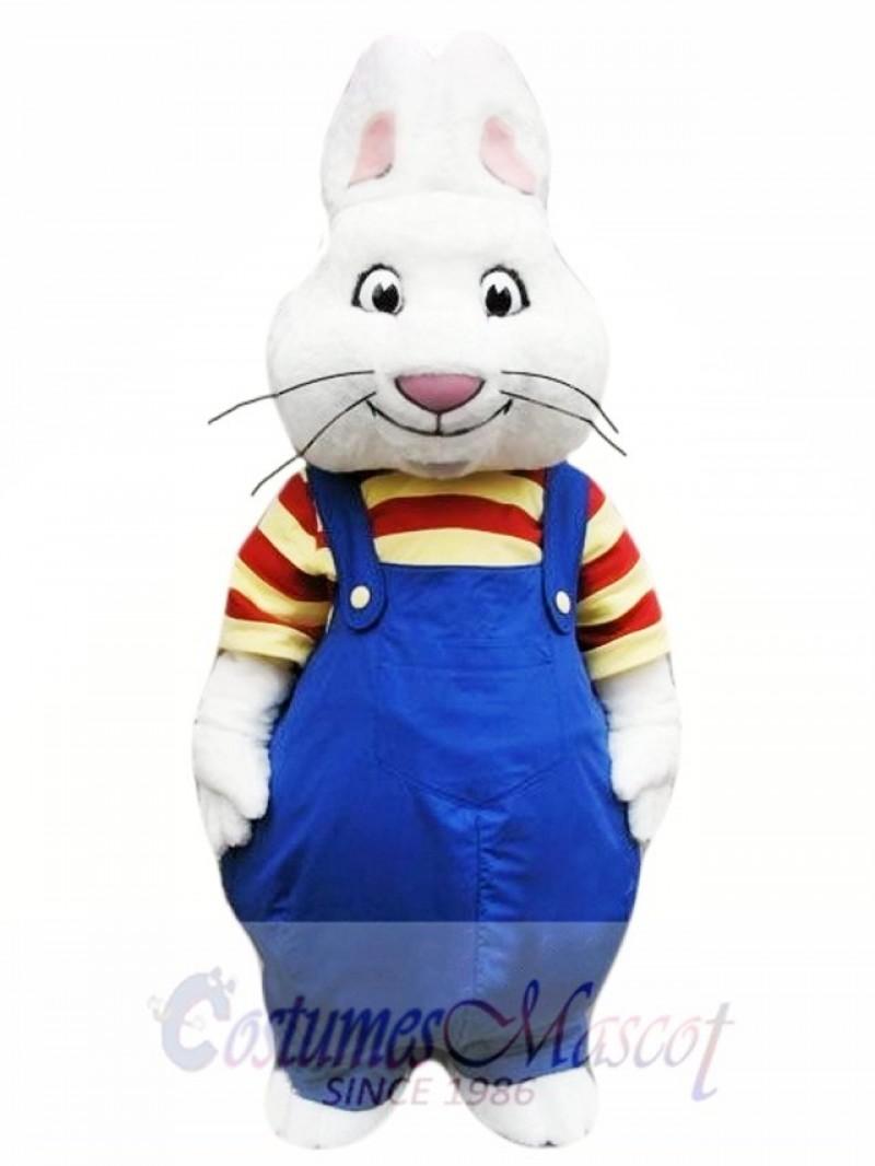 Max Rabbit Mascot Costume