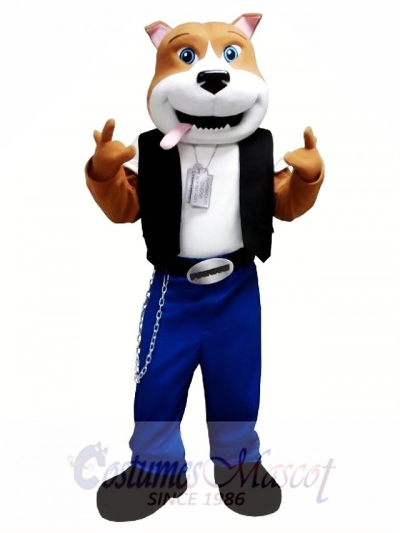 Cool Dog Mascot Costume