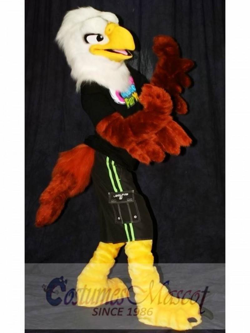 High Quality School Eagle Mascot Costume