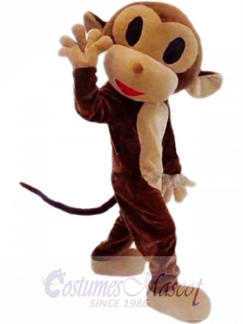 New Monkey Mascot Costume