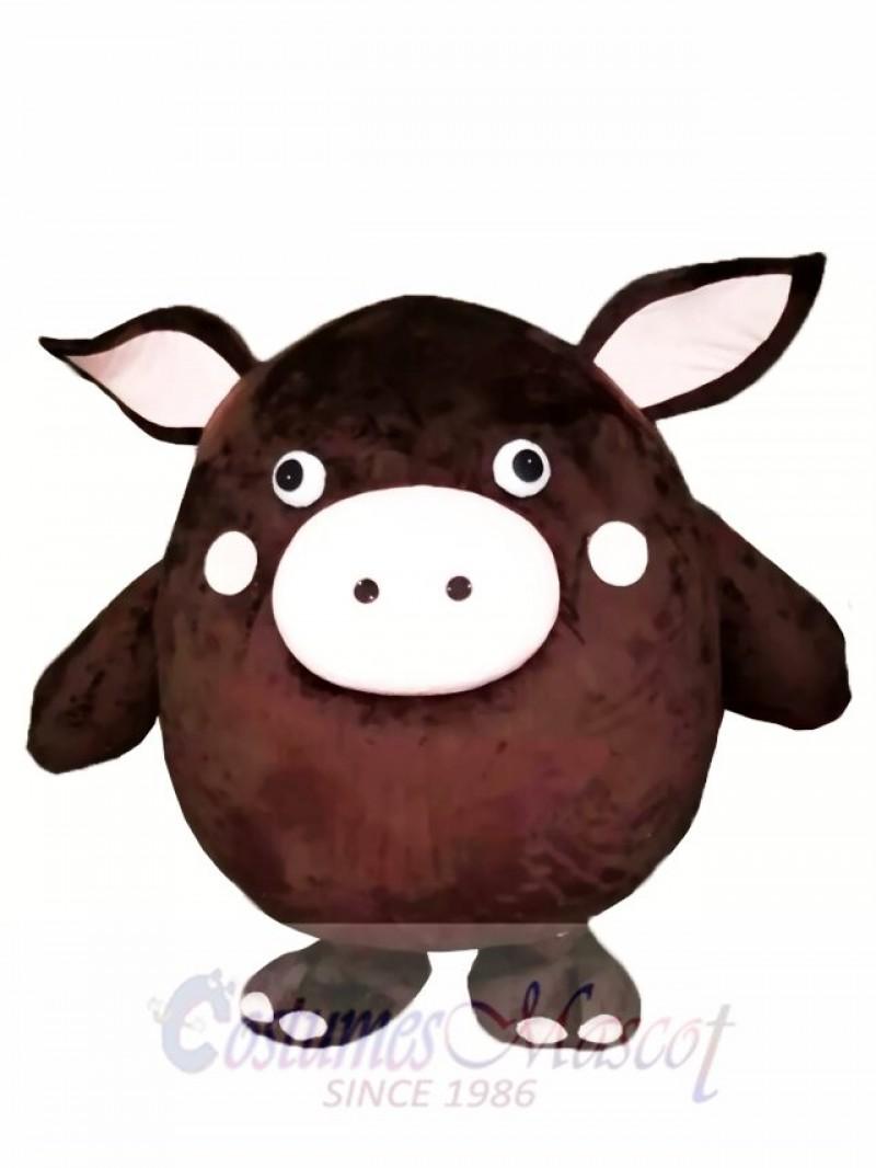 Brown Pig Mascot Costumes